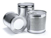 Tin cans Royalty Free Stock Images
