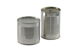 Tin Cans Stock Photography