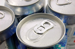Tin cans Stock Image