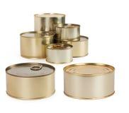 Tin cans Royalty Free Stock Photos