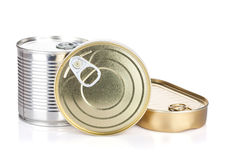 Tin cans Royalty Free Stock Photography