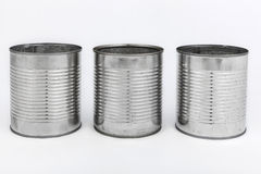 Tin cans Stock Photos