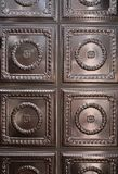Tin Ceiling Panels stock foto's