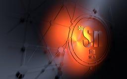Tin chemical element stock illustration illustration of molecule tin chemical element stock image urtaz Choice Image