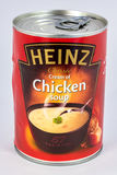 Tin of Chicken Soup Royalty Free Stock Photography