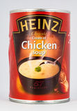Tin of Chicken Soup Stock Image