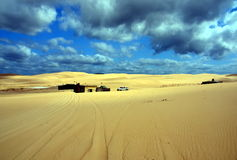 Free Tin City On Stockton Beach Stock Images - 74269114
