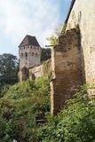 Tin Coaters Tower, Sighisoara Royaltyfria Bilder