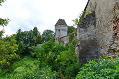 Tin Coaters Tower from Sighisoara. Stock Image