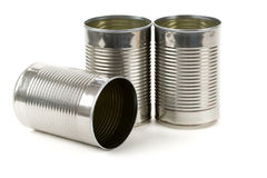 Tin container Royalty Free Stock Photo