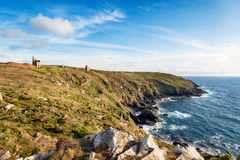 Tin and Copper Mines at Botallack Royalty Free Stock Photo