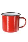Tin Cup Stock Image