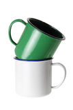 Tin Cups Stock Photography