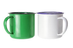 Tin Cups Royalty Free Stock Photo