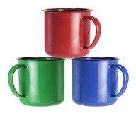 Tin Cups Stock Images