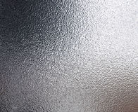 Tin foil shiny metal texture  Stock Images