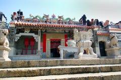 Tin Hau Mazu, Sea Goddess Temple - Cheung Chau - Hong Kong Royalty Free Stock Image