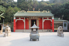 Tin Hau Temple at Hang Hau Stock Images