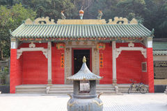 Tin Hau Temple at Hang Hau Royalty Free Stock Photography
