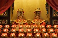 Tin Hau Temple interno Imagens de Stock