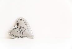 Tin heart Royalty Free Stock Photo