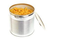 Tin isolated on white background. Tin maize, corn isolated on white background Stock Photography