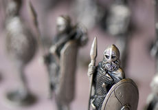 Tin knights Stock Photo