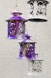 Tin lanterns Stock Images
