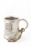 Tin medieval mug Royalty Free Stock Photos
