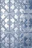 Tin Metal Christmas Winter Background Stock Photos