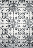 Tin Metal Heart Pattern Background Royalty Free Stock Photos