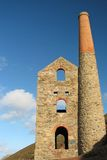 Tin mine. A tin mine on the cornish coast Royalty Free Stock Photography
