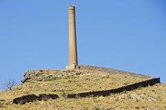 Tin Mine abandonné, Espagne Photographie stock