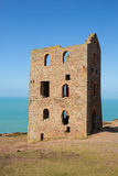 Tin mine ruins Cornwall England UK Stock Photo
