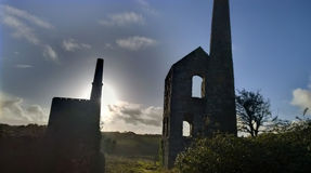 Tin mines in cornwall Stock Images