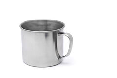 Tin mug Stock Photography