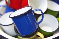 Tin mug Royalty Free Stock Image