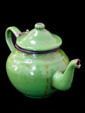 Tin old teapot Royalty Free Stock Photos