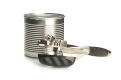 Tin opener Royalty Free Stock Photography
