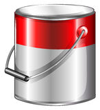 A tin of paint Stock Image