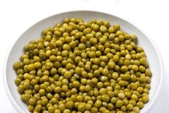 Tin Peas inscatolato Immagine Stock