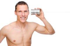 Tin phone Stock Images