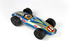 Tin race car Royalty Free Stock Images