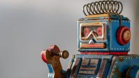 Tin Robot imagenes de archivo