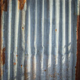 Tin Roof abstract rusty Stock Photography