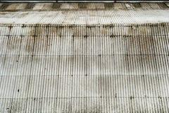 Tin roof Stock Image