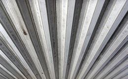 Tin Roof Ridges Stock Images