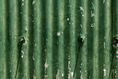 Tin Roofing Sheet Stock Photography