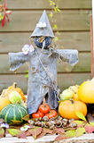 Tin scarecrow Royalty Free Stock Images