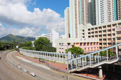 Tin Shui Wai district in Hong Kong at day Stock Photo